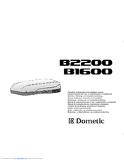 Dometic B2200 Manuals