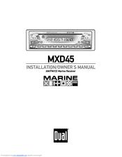 Dual MXD45 Manuals