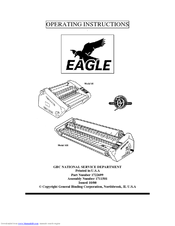 Gbc Ultima 35 EZload Manuals