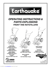 Earthquake MODEL 3365KPS Manuals