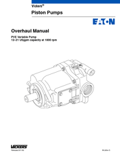Eaton Vickers PVE12 Manuals