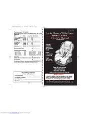 Safety 1st Alpha Omega 3-in-1 Manuals