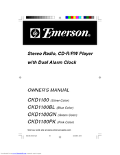 Emerson CKD1100GN Manuals