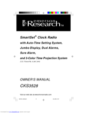 Emerson Research SmartSet CKS3528 Manuals