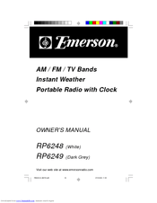 Emerson RP6248 Manuals