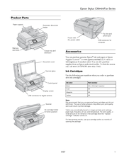 Epson Stylus CX9400 Manuals
