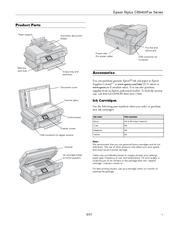 Epson Stylus CX9400 Manuals