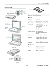 Epson Perfection V200 Photo Manuals
