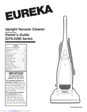 Eureka 2270 Series Manuals