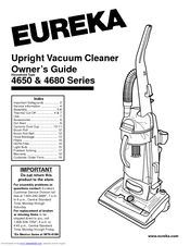 Eureka 4650 Series Manuals