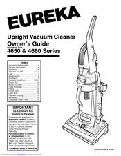 Eureka 4650 Series Manuals