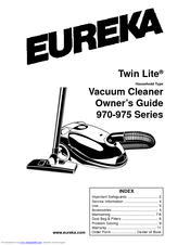 Eureka Maxima 972B Manuals