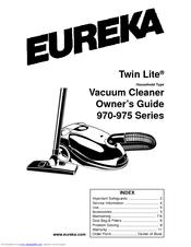 Eureka Maxima 972B Manuals