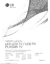 Lg 55LX6500 Manuals