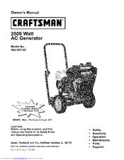 Craftsman 580.327122 Manuals