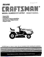 Craftsman 917.257621 Manuals