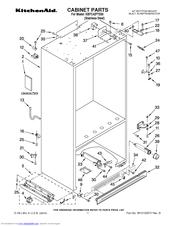 Kitchenaid KBFC42FTS00 Manuals