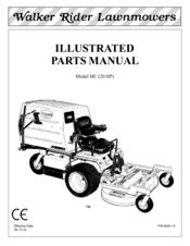 Walker MC (20 HP) Manuals