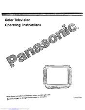 Panasonic CT-31G10 Manuals