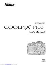 Nikon COOLPIX P100 Manuals