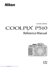 Nikon COOLPIX P510 Manuals