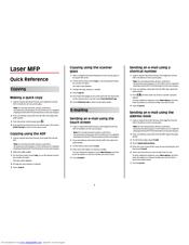 Lexmark X864 Manuals