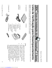Lenovo ThinkPad T40 Manuals