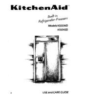 Kitchenaid KSSS36D Manuals