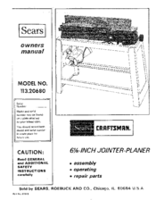 Craftsman 113.20680 Manuals