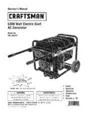 Craftsman 580.326311 Manuals