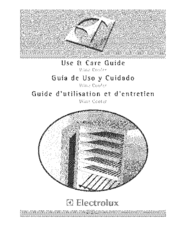 Electrolux E24WC48EBS Manuals
