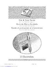 Electrolux E23CS75DSS1 Manuals