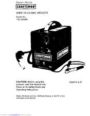 Craftsman 196.205680 Manuals