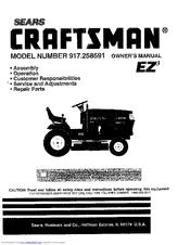 Craftsman 917.258591 Manuals