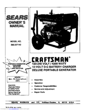 Craftsman 580.327140 Manuals