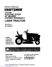 Craftsman 917.270811 Manuals