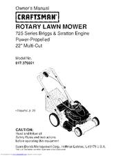 Craftsman 917.370921 Manuals