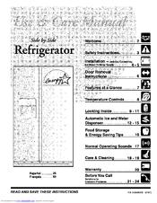 Frigidaire FRS26F5AW1 Manuals