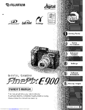Fujifilm FinePix E900 Manuals
