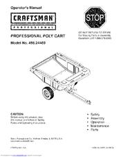 Craftsman 486.24469 Manuals