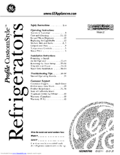 Ge PTC22MFMARWW and Manuals