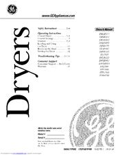 Ge DBXR463 Manuals