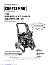 Craftsman 580.768350 Manuals