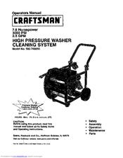 Craftsman 580.768050 Manuals