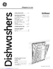 Ge PDWT280V00SS Manuals