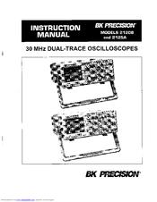 Bk Precision 2120B Manuals