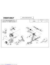 Troy-bilt TB4620CC Manuals