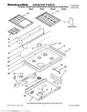 Kitchenaid KGRS807SSS00 Manuals