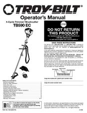 Troy-bilt TB590 EC Manuals