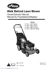 Ariens 911183-LM21S Classic Manuals